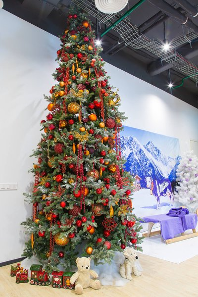 Kraft Foods Office New Year Decoration 2016